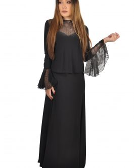 Women's Flare tops w/lace & skirt