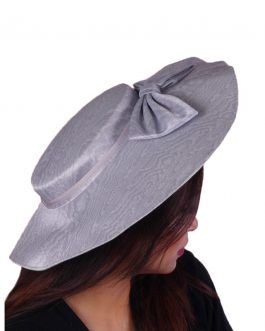 women's wide ribbon summer hat