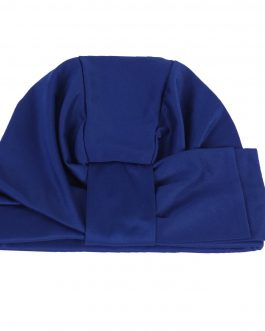 women's turban hat with bow