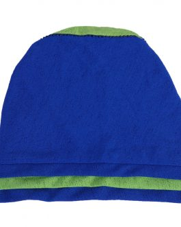 women's two color with stone turban with shawl